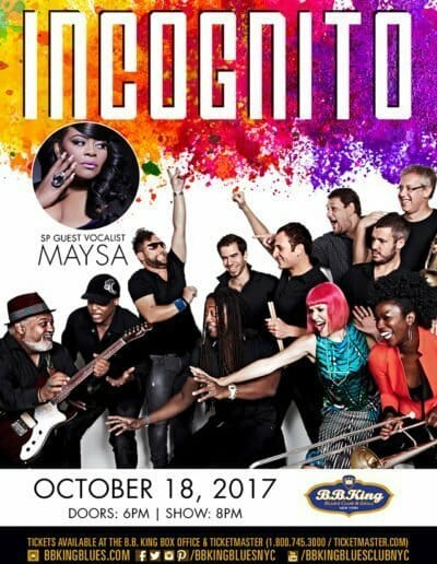 Incognito featuring Maysa